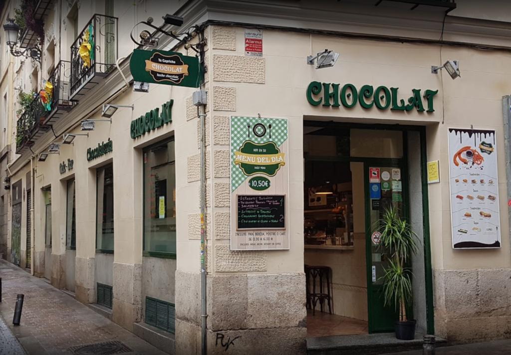 CHOCOLAT MADRID churrería