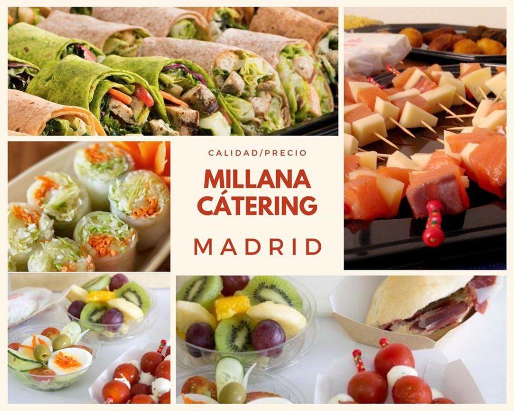 Catering Millana a Domicilio en Madrid