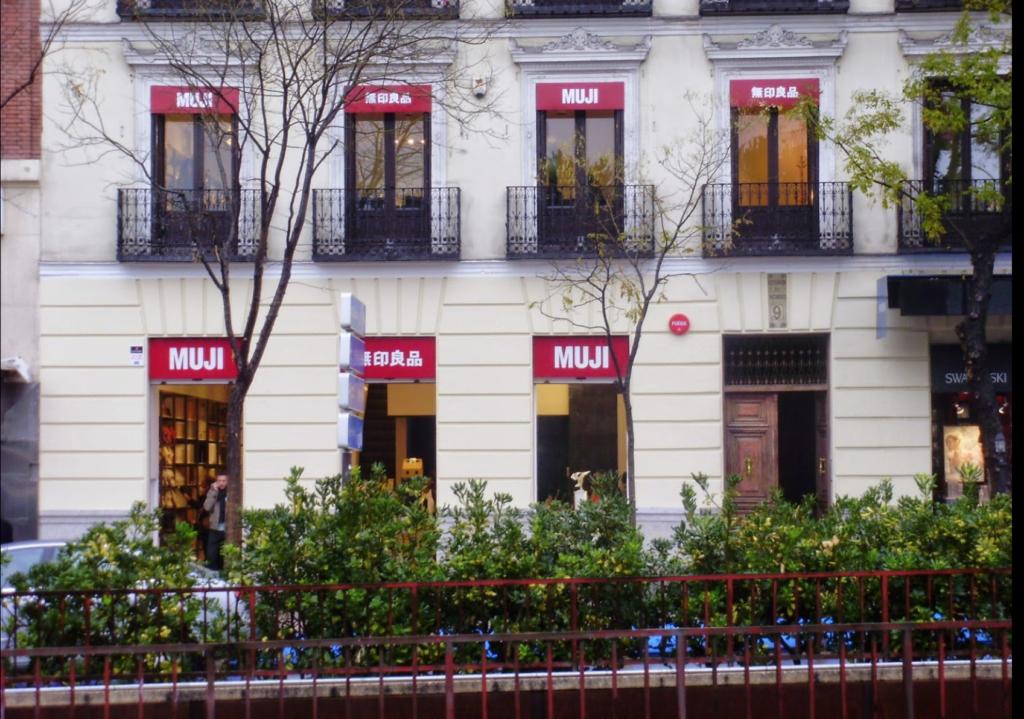 MUJI GOYA TIENDA JAPONESA MADRID