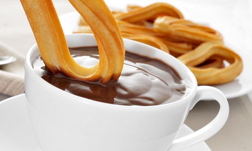 Mejores Churros con chocolate en Madrid