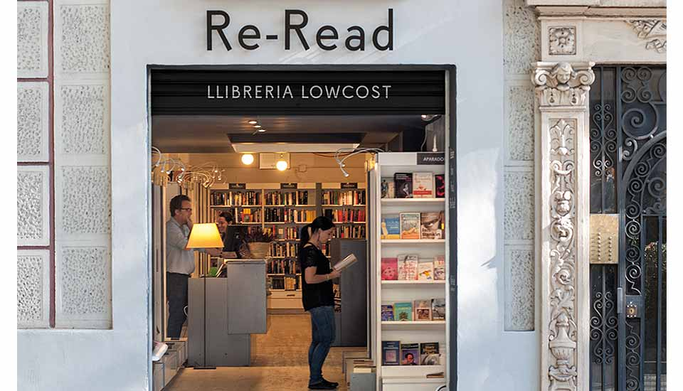 RE-READ, LIBROS LOWCOST librerias segunda mano madrid