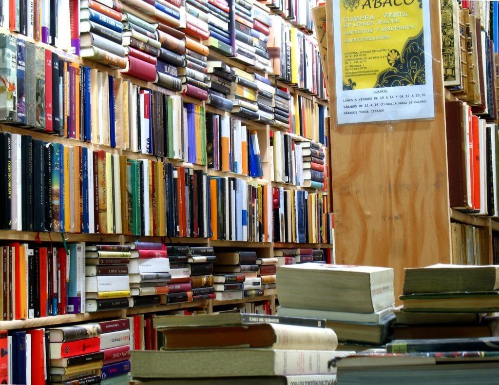 abaco libros usados librerias de segunda mano madrid