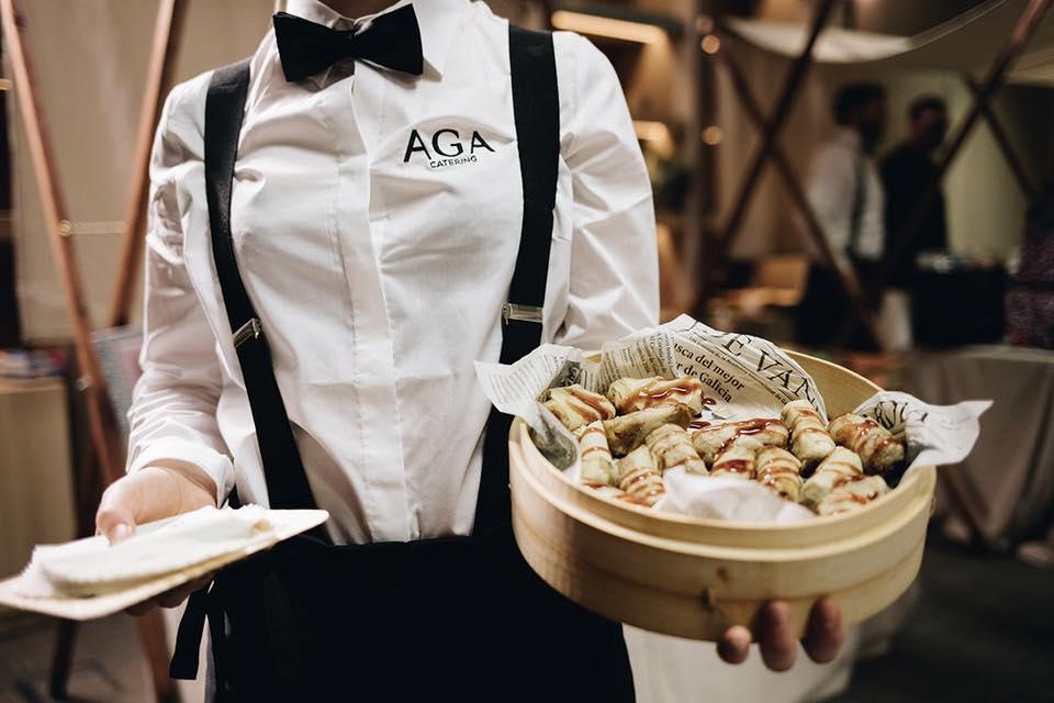 catering AGA a domicilio en Madrid