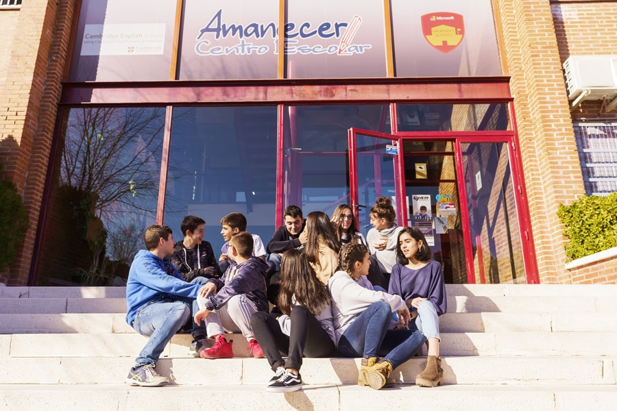 centro escolar amanecer colegio privado madrid