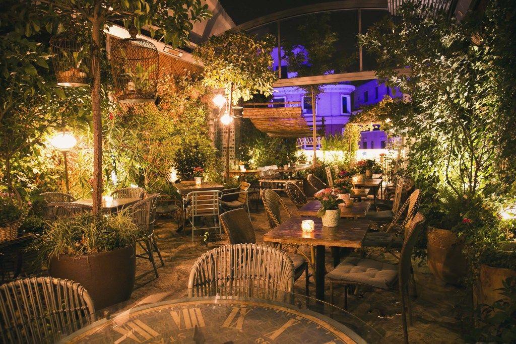 el jardin de salvador bachiller cafetería madrid