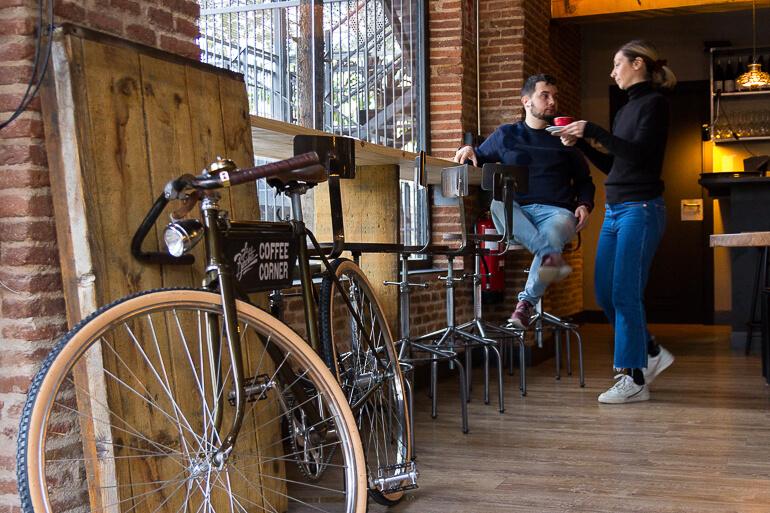 la bicicleta café cafetería madrid