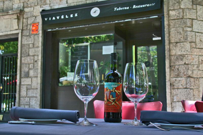 taberna restaurante viavelez madrid