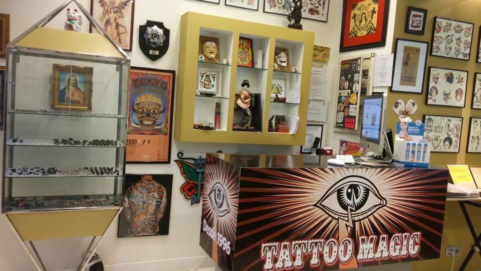 tattoo magic madrid