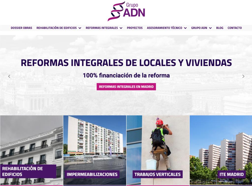 grupo adn REFORMAS INTEGRALES DE LOCALES Y VIVIENDAS