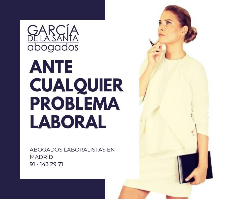 GARCIA DE LA SANTA ABOGADOS LABORALES