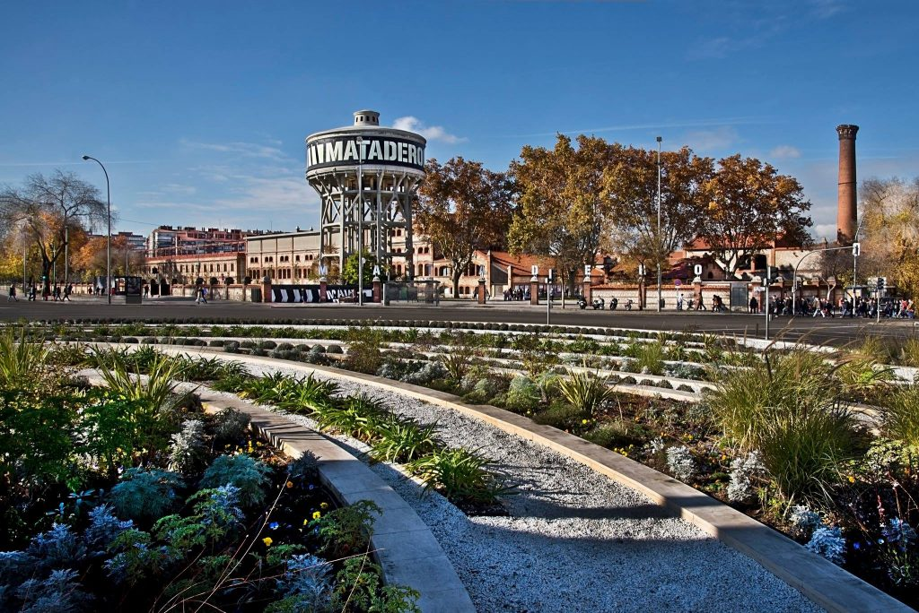 Matadero Madrid plan original