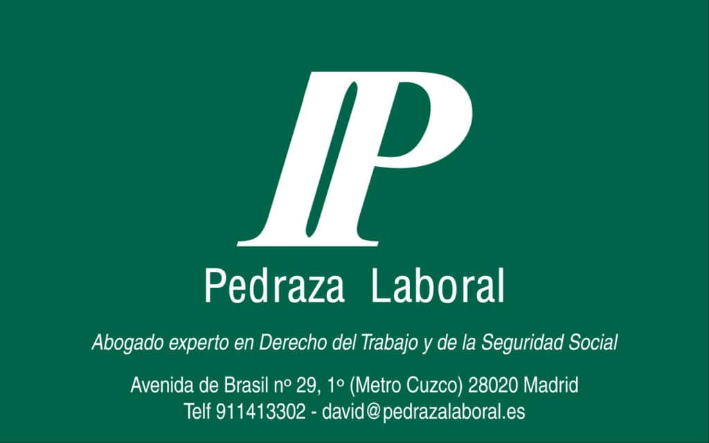 PEDRAZA LABORAL madrid