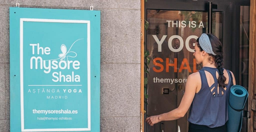 The Mysore Shala Madrid Ashtanga Yoga