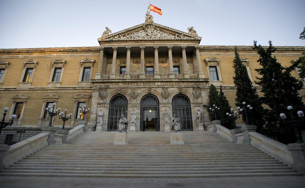 biblioteca nacional de españa museo gratis hoy