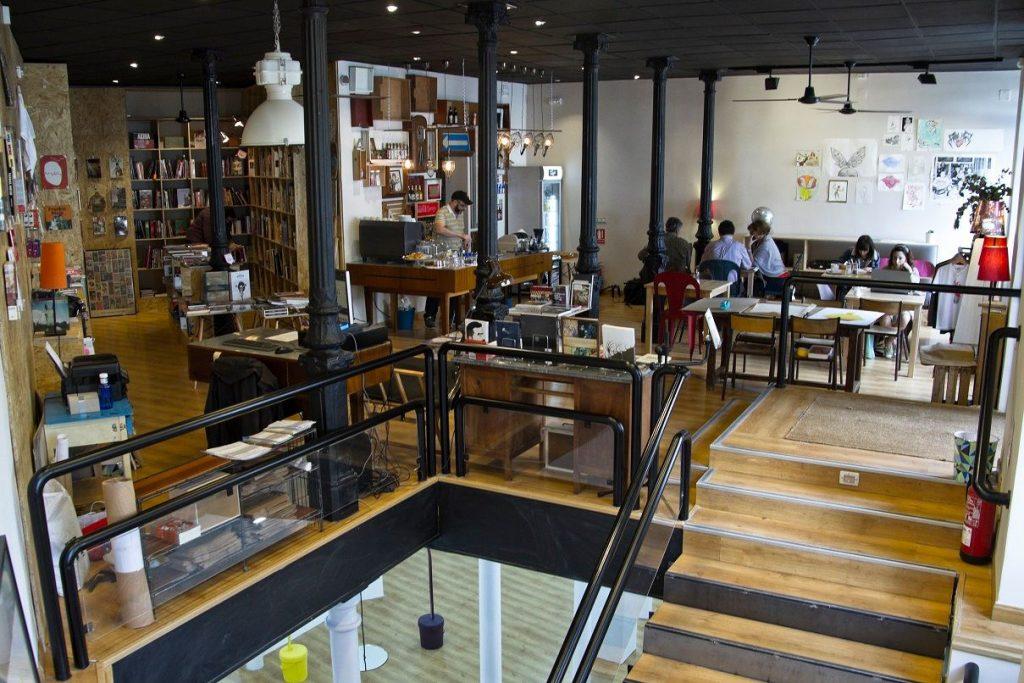 grant librería cafetería madrid