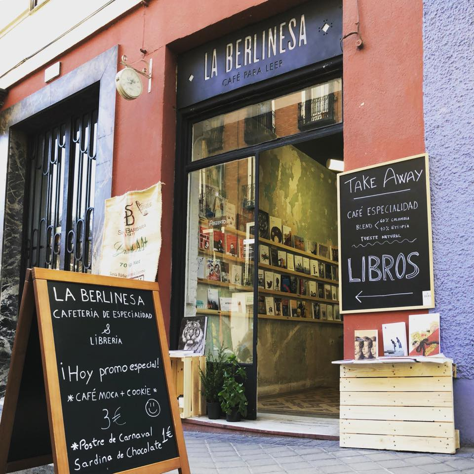 la berlinesa cafetería librería madrid