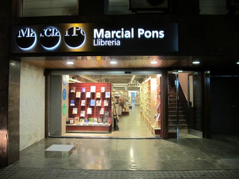 librería marcial pons madrid
