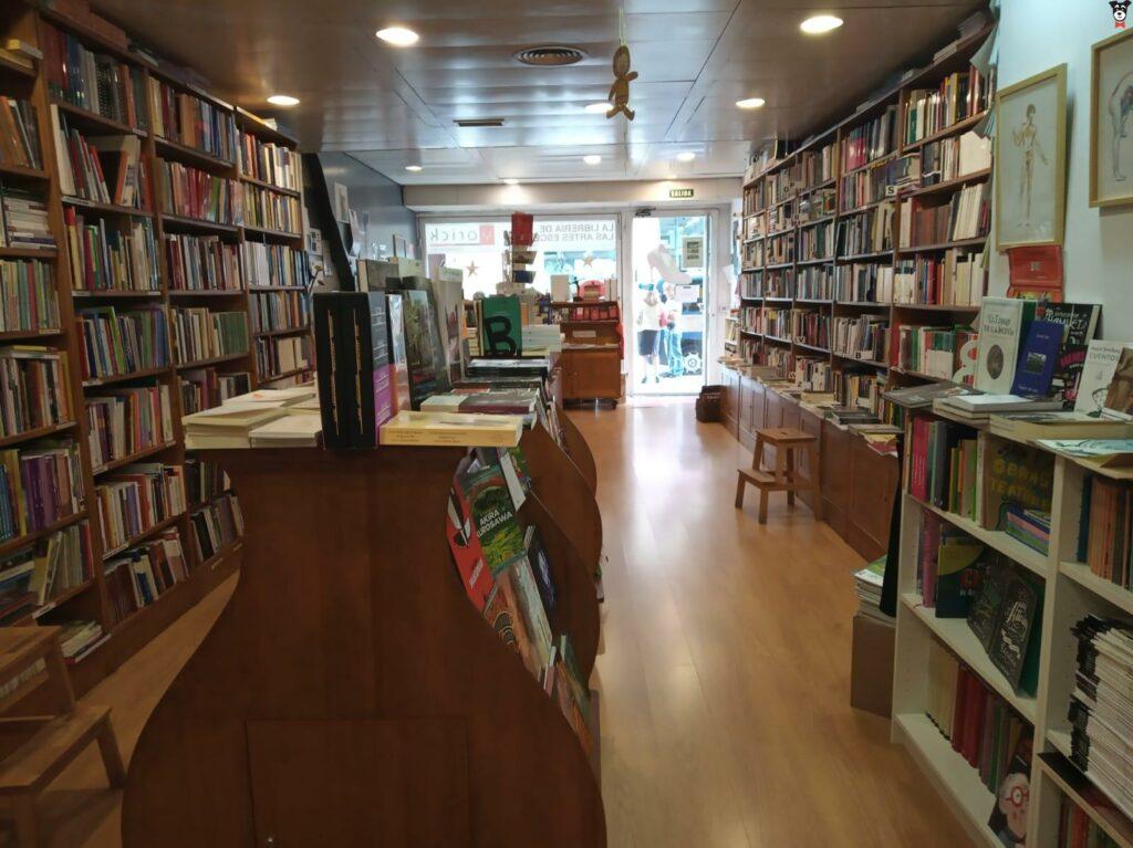 libreria especializada Yorick madrid