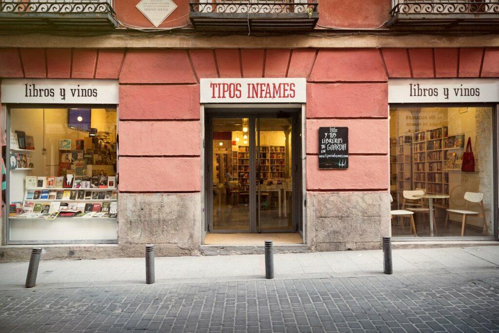 tipos infames cafetería librería madrid